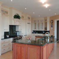 large custom kitchen island