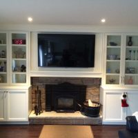 White Custom Wall Unit