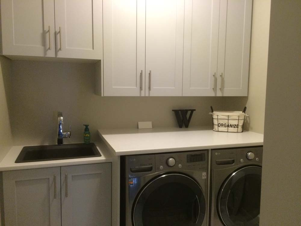 Laundry Room Cabinets And Walk In Closets Alpine Custom
